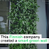 This Finnish company created a smart green wall