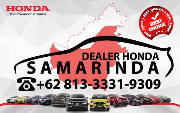 Dealer Honda Samarinda - Daftar Harga OTR, Cash Dan Kredit Mobil Baru