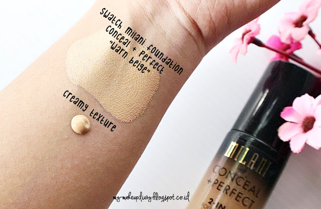 [REVIEW] Milani Conceal + Perfect Foundation in Warm Beige