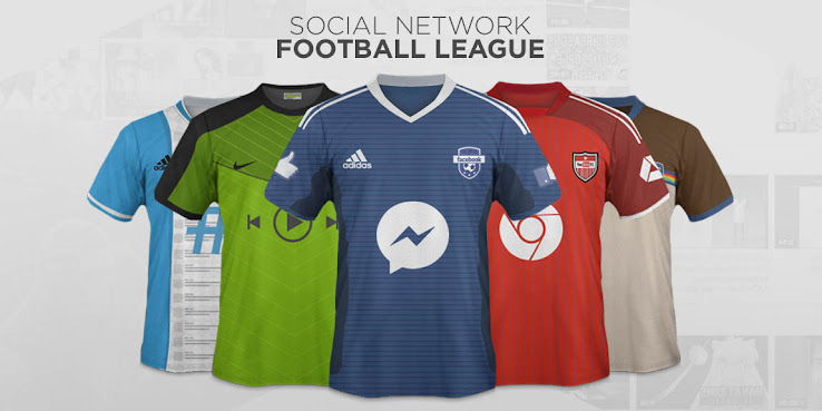 Social Media Football Kits - Facebook 2bdfcdde7