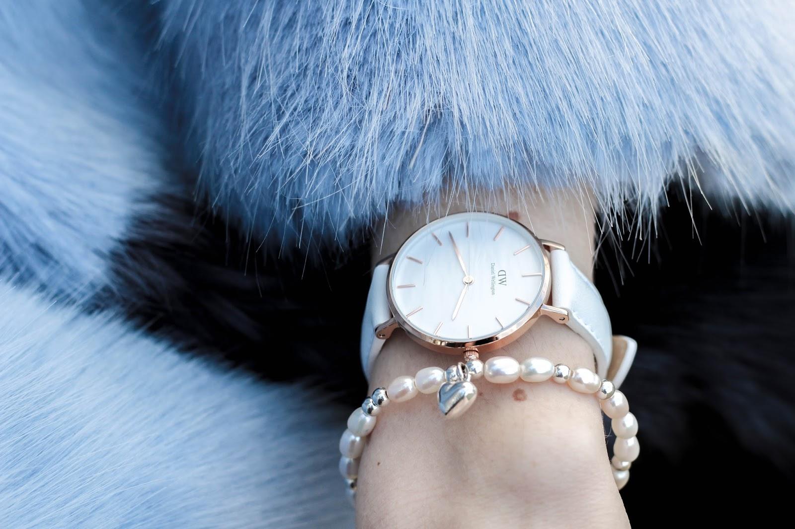 Chlobo Mini Pearl Puffed Heart Bracelet