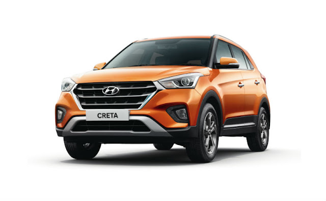 New 2018 Hyundai Creta Facelift version SUV wallpaper