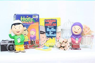 Hafiz Talking Doll Toko Nabihah Semarang