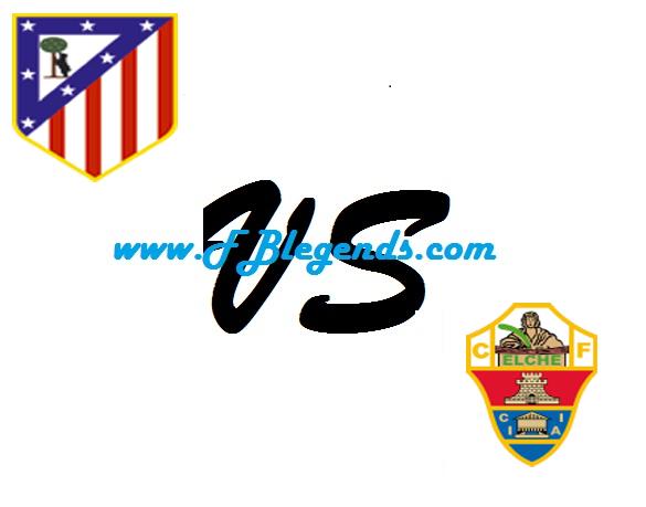 مشاهدة مباراة اتليتكو مدريد والتشي بث مباشر في كأس ملك إسبانيا يوم 25-10-2017 مباريات اليوم elche cf vs atletico de madrid