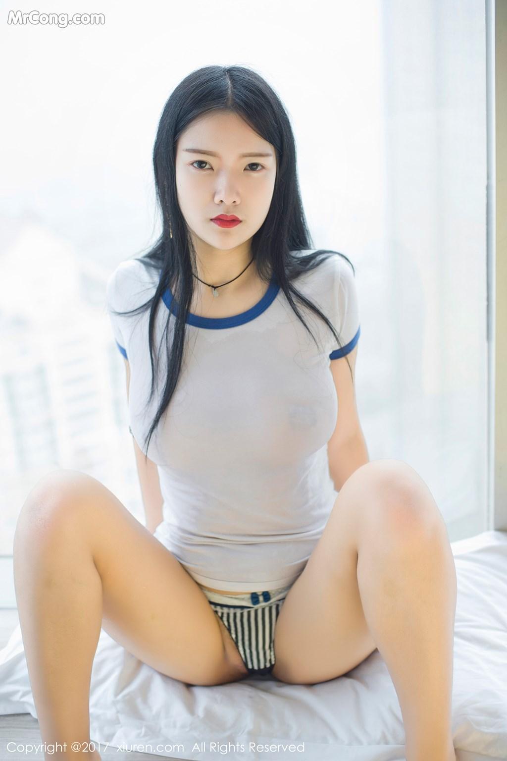 Image XIUREN-No.864-Ling-Xi-Er-MrCong.com-001 in post XIUREN No.864: Người mẫu Ling Xi Er (凌希儿) (48 ảnh)