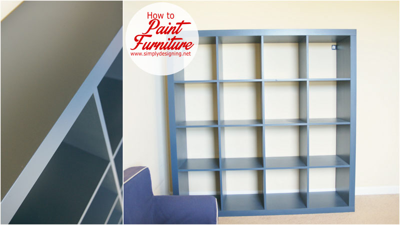 How to Refinish Furniture + a Giveaway | how to paint furniture and get a smooth finish + a giveaway of my favorite painting tool | #diy #painting #giveaway