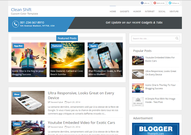 Clear Shift Blogger Template                                                                                                                                                                                                     http://blogger-templatees.blogspot.com/