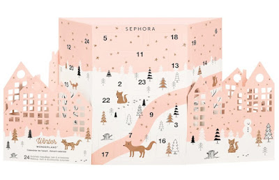Winter  Wonderland Calendario dell'Avvento Sephora Collection make up regalo di Natale sotto i 50 euro Mirtilla Malcontenta Beauty Blog