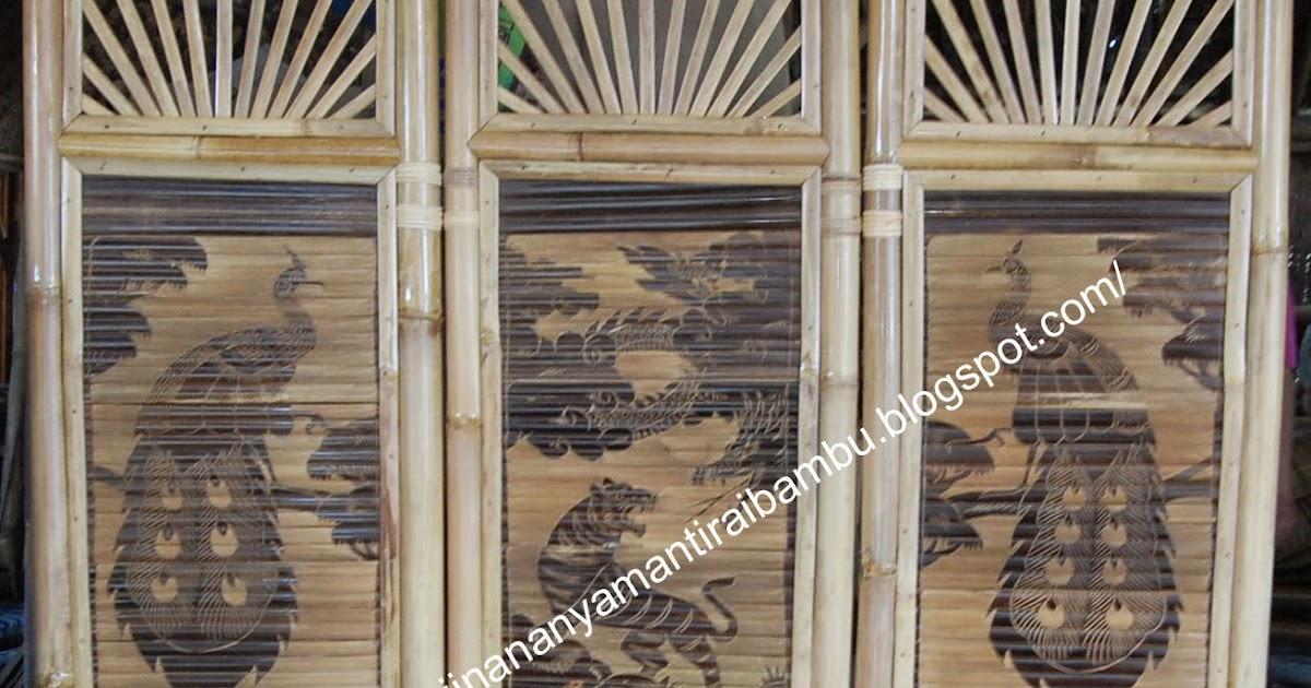 Jual Sekat Ruangan Jual Kerajinan Bambu Kerajinan Bambu