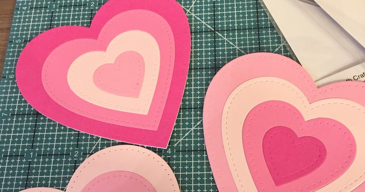 Patterned Coloured Cards For Craft