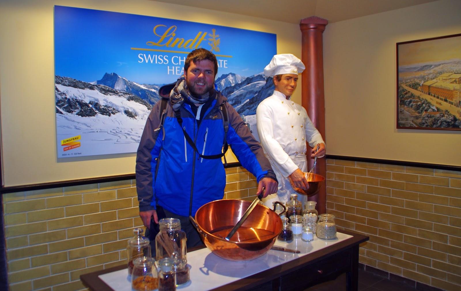 Jungfraujoch Lindt