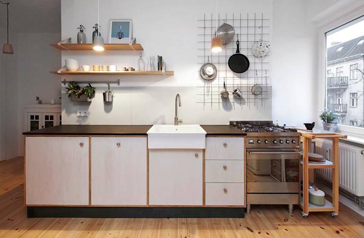 Gambar Desain Dapur Modern Ukuran Kecil Minimalis
