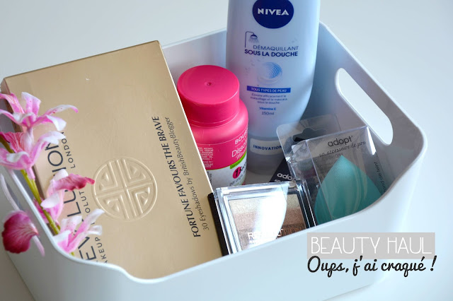 Beauty Haul : Makeup Revolution, ADOPT', Bourjois et NIVEA