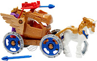 Mattel Imaginext Wonder Woman Toy Line Hippolyta and Battle Chariot