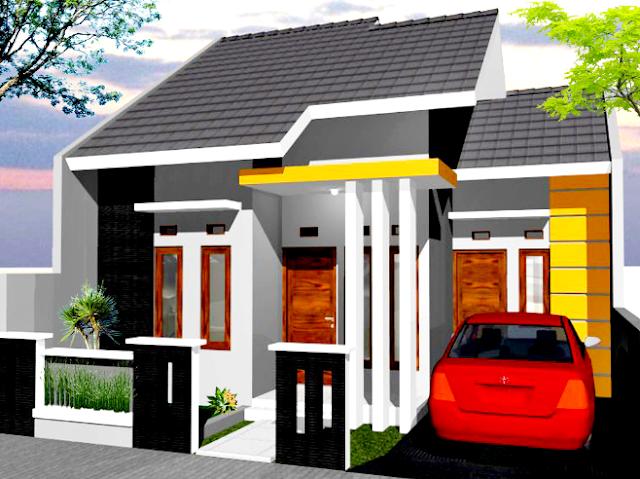Gambar 3 Rumah Minimalis type 45