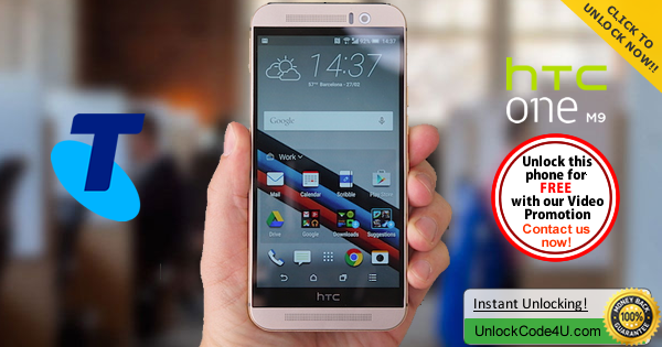 Factory Unlock Code HTC One M9 from Telstra