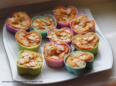 Muffinki pomarańczowe imbirowe