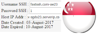 Free SG.DO SSH Account August 5, 2017