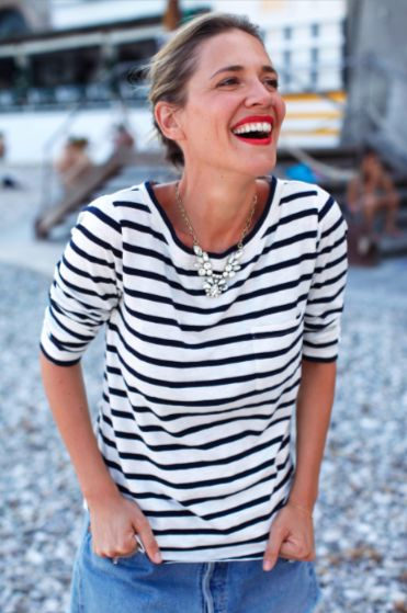 striped-tee-classic-black-white