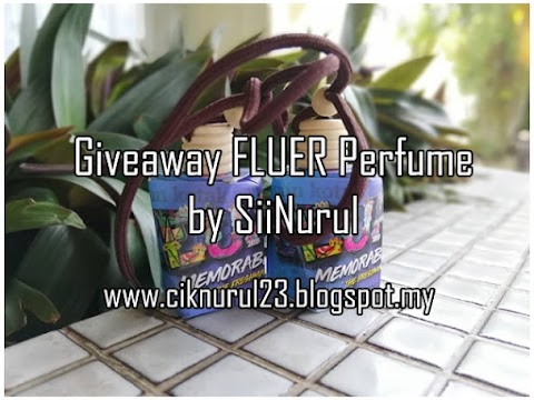 Giveaway FLUER Perfume by Sii Nurul