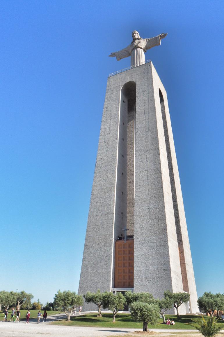 Cristo Rei au Portugal près de Lisbonne