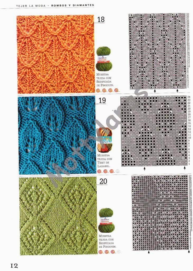 Revista gratis Rombos y diamantes en crochet - Revistas de ...