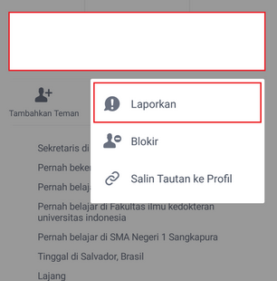 cara menghapus akun facebook lewat android