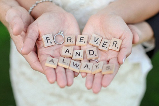 creative wedding ideas wedding rings forever