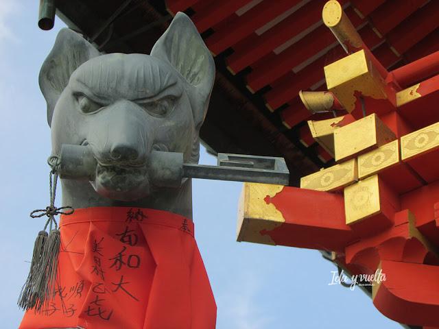 Zorro en Fushimi Inari