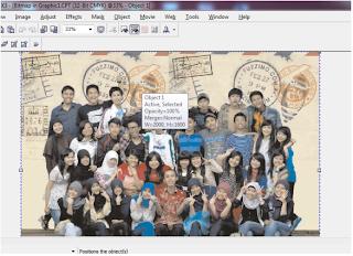 Cara mewarnai background foto