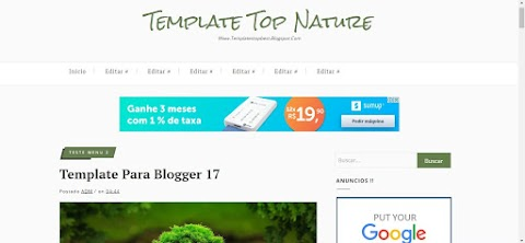 Template Blogger Top Best Nature