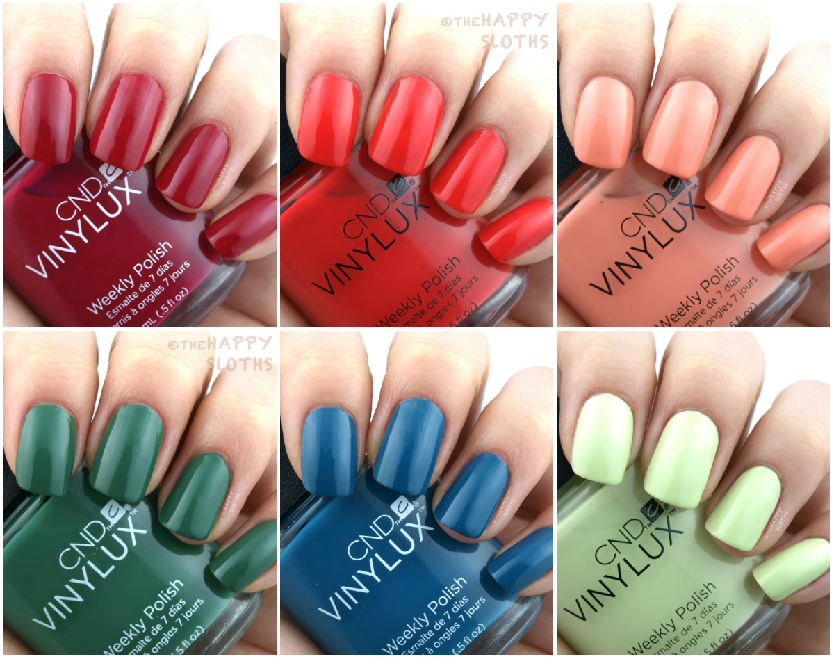CND Summer 2017 Rhythm & Heat Collection: Review and Swatches