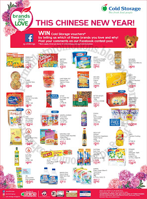 Cold Storage CNY Promotion 12 - 18 January 2018 ~ Supermarket Promotions