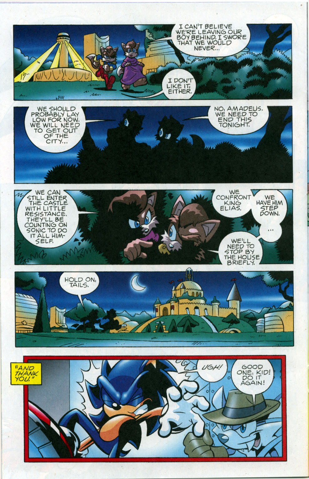 Read online Sonic The Hedgehog comic -  Issue #178 - 17