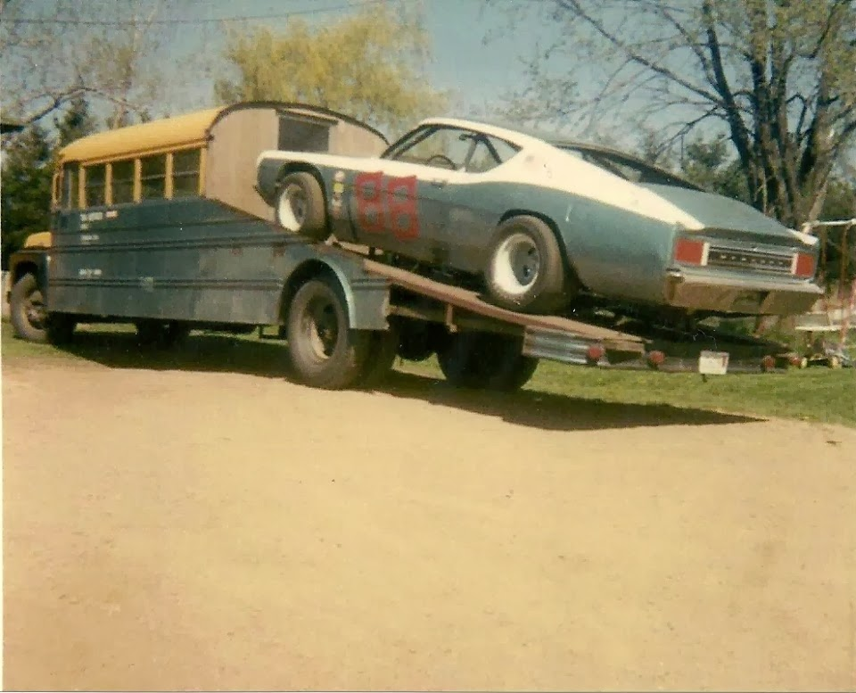 Old Ford Race Cars