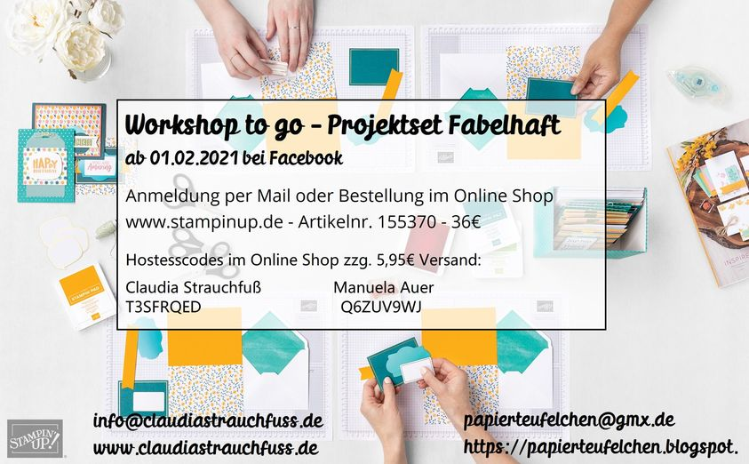 "Onlineworkshop Projektset ""Fabelhaft"""