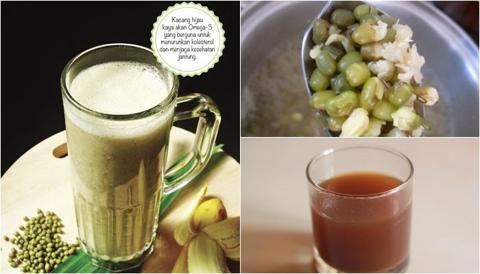 Resep cara membuat sari kacang hijau yang enak