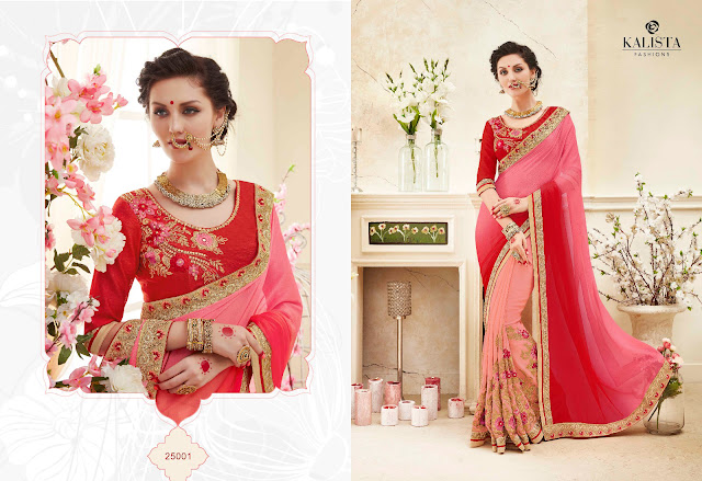 Wedding Special Heavy Designer Saree Collection 2017
