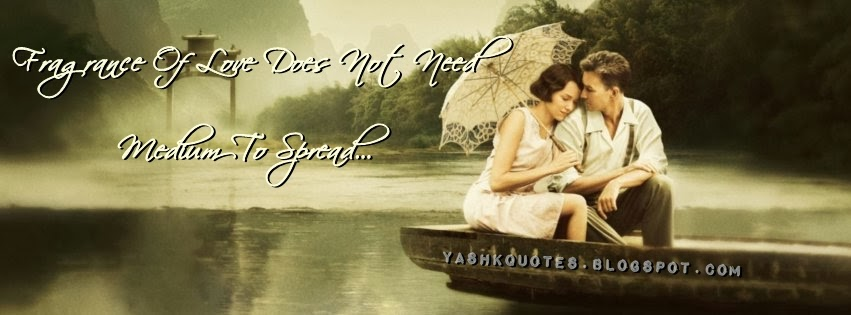 FRAGRANCE OF LOVE FB TIMELINE COVER ~ Yash Quotes
