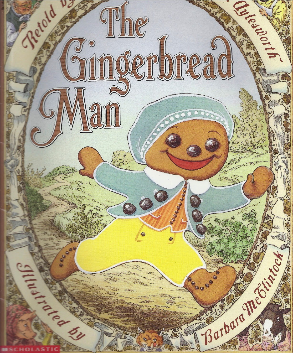 Gingerbread Man A Christmas Book Inspired Craft