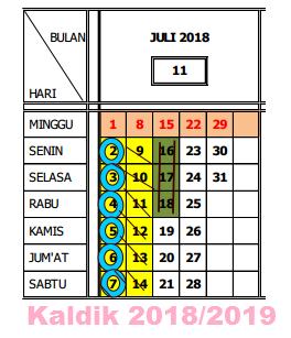 Download Kalender Pendidikan 2018/2019