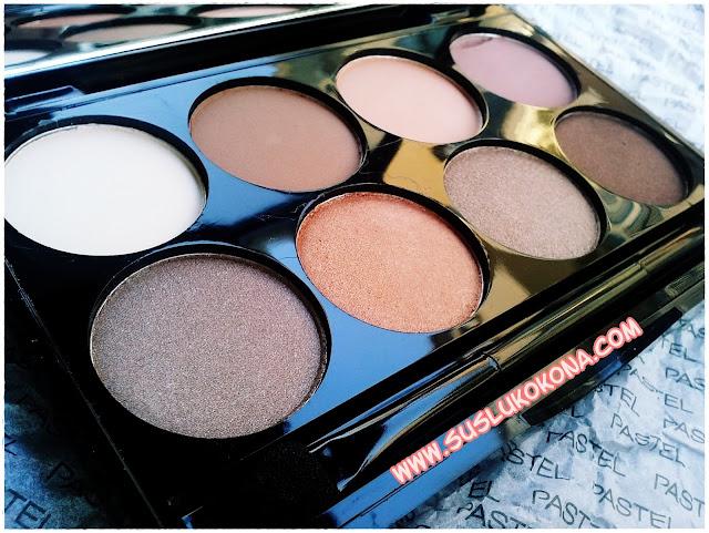 Pastel Nude Eyeshadow Palette
