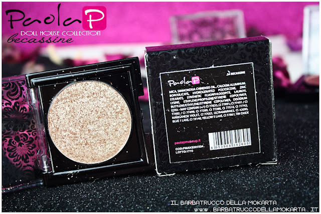 eyeshadow ombretti paolaP doll house  becassine inci