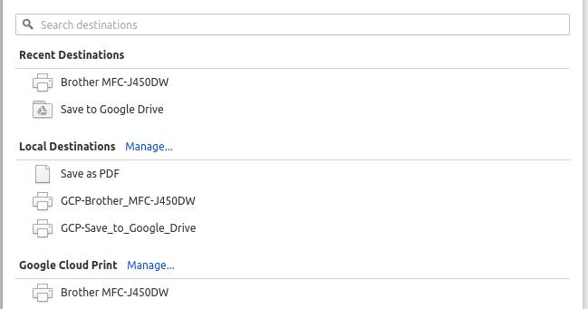 Ken's Blog: Ubuntu CUPS Driver for Google Cloud Print