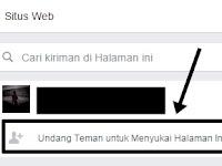 Cara Mudah Undang Semua Teman Menyukai Fanspage Facebook [1 Klik]