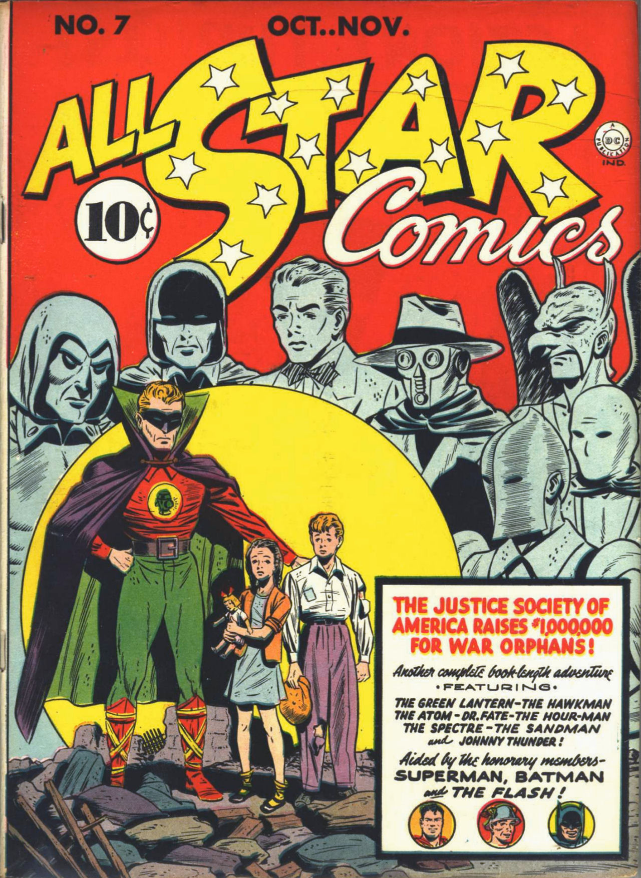 Read online All-Star Comics comic -  Issue #7 - 2
