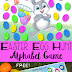Easter Egg Hunt Alphabet Game & Free Printable