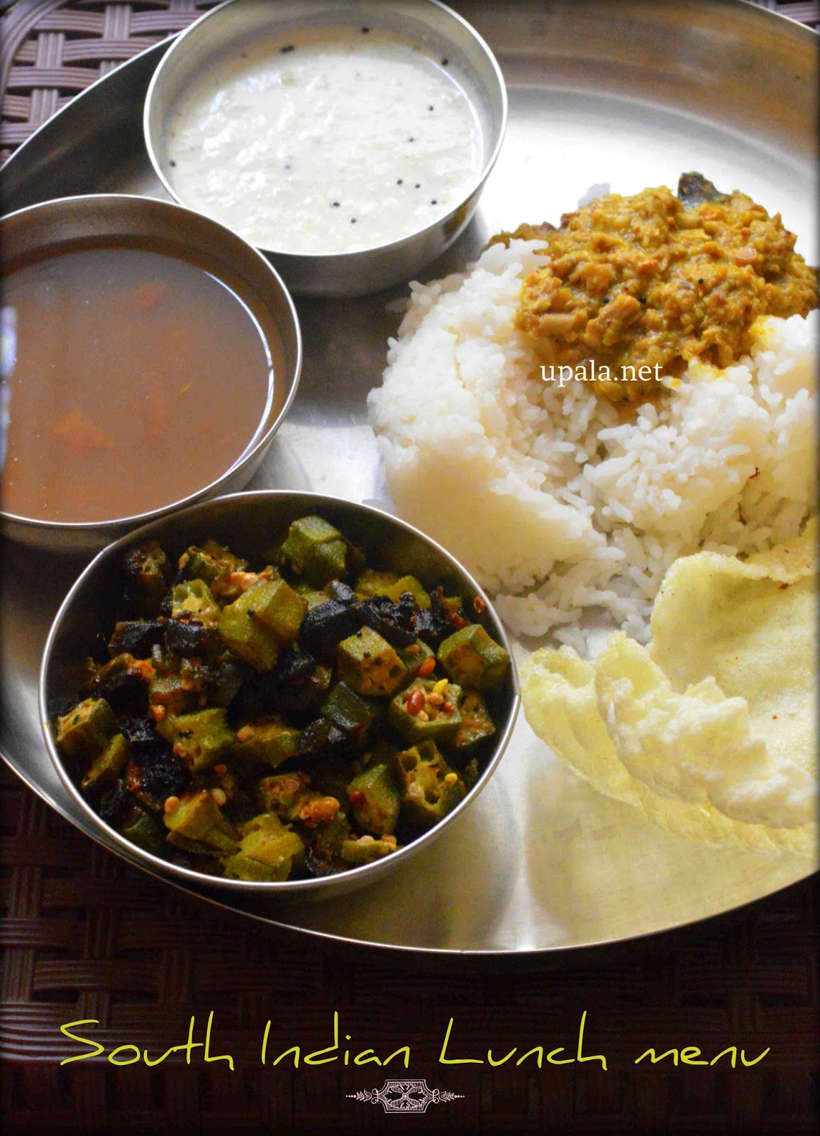 South Indian Lunch Menu 6