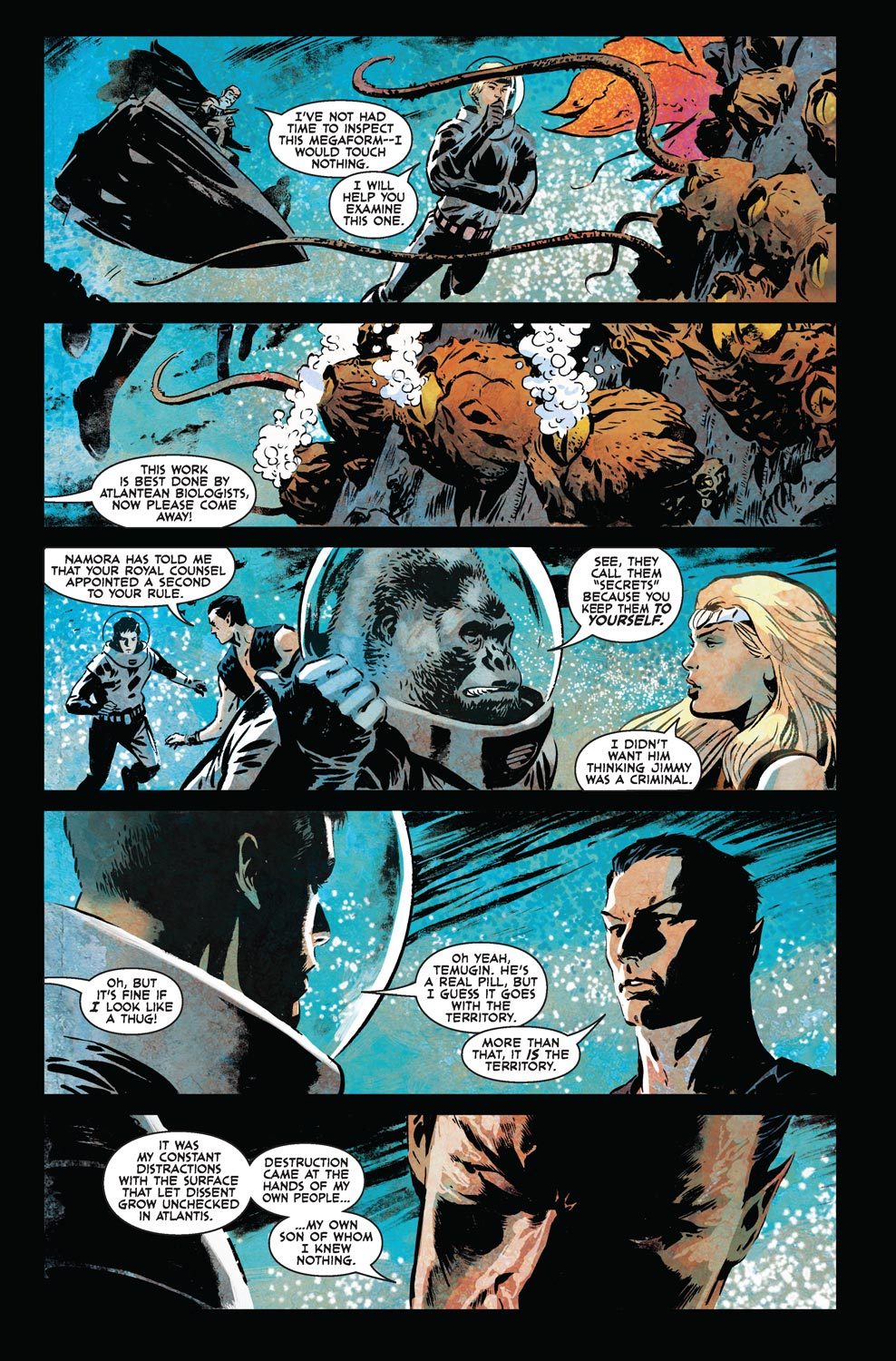Read online Agents Of Atlas (2009) comic -  Issue #7 - 7