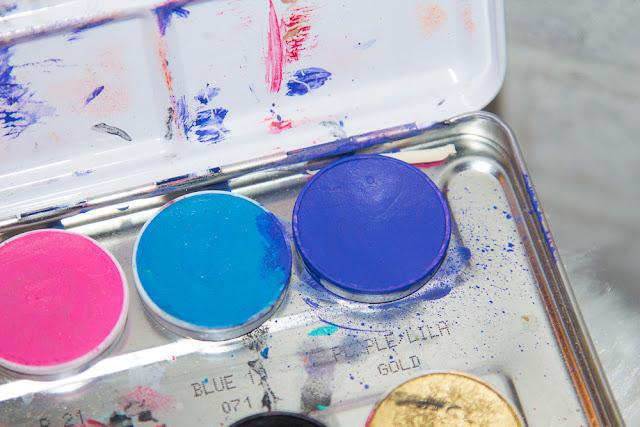 kryolan - aqua - color